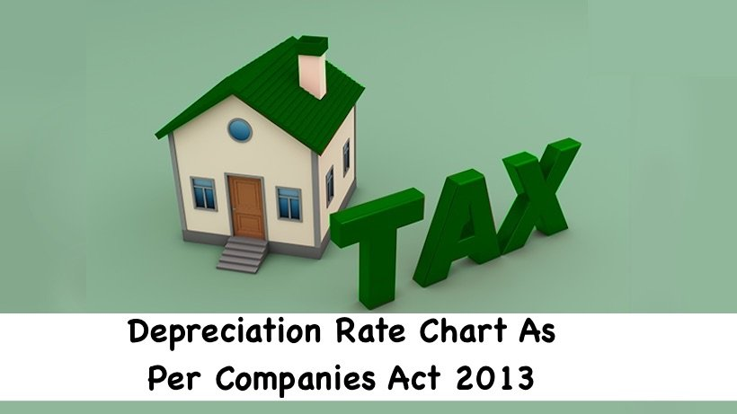 Depreciation Rate Chart As Per Companies Act 2013