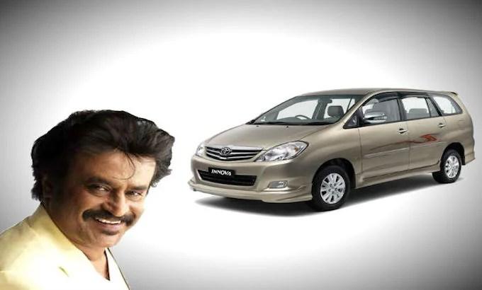Rajnikanth Cars