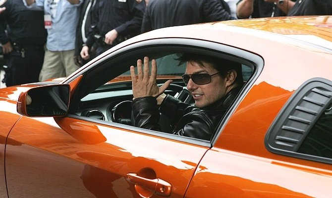 Tom Cruise Cars