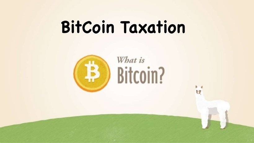 BitCoin Taxation