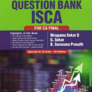 CA Final ISCA Question Bank by G Sekar