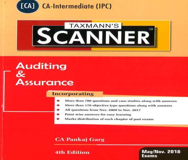 CA IPCC Auditing and Assurance Scanner by Pankaj Garg