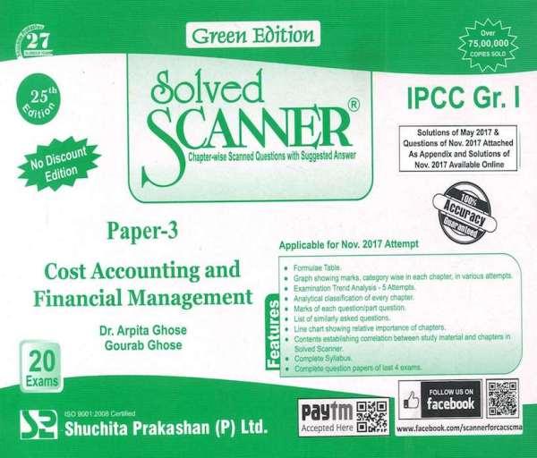 CA IPCC Cost FM Scanner by Arpita Ghose