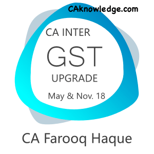 CA Intermediate GST Upgrade Video