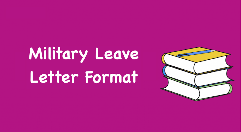 Military leave letter format military leave application format in word spiritdancerdesigns Images