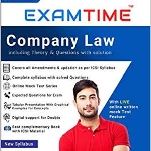 CS Executive Examtime company law by anupama shukla new