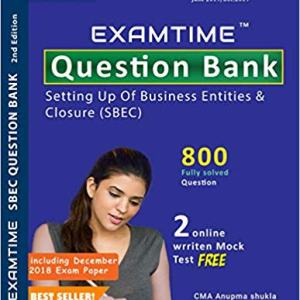 Cs Executive Examtime Question Bank for SBEC new