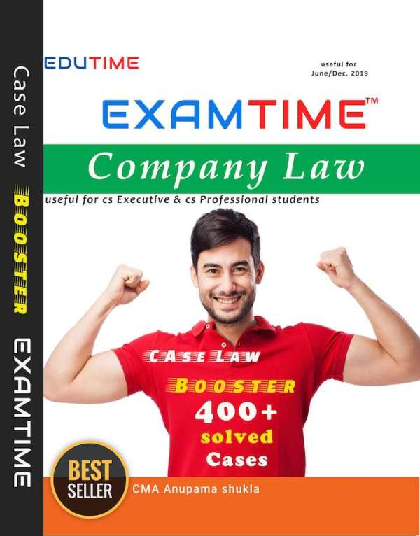CS Executive, Professional Company Law case Law Booster