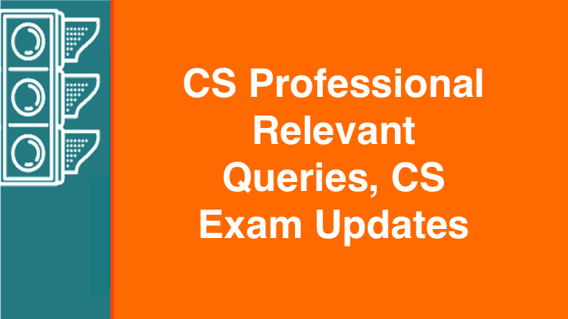 CS Professional Relevant Queries