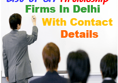 CA Articleship Firms in Delhi List 1