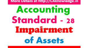Accounting standard - 28 - Impairment of Assets