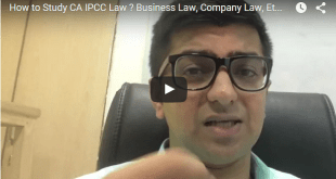 8 tips on how to study company law at IPCC level