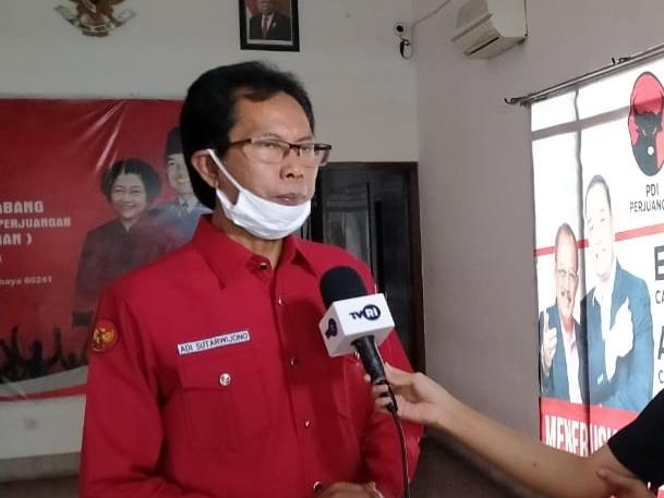 Ketua DPC PDI P Surabaya Adi Sutarwijono