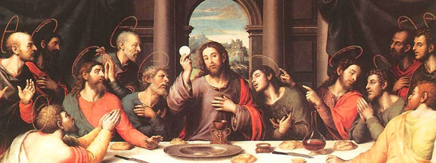 The Last Supper by Juan de Juanes, painted in 1562