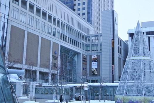 早朝の札幌駅