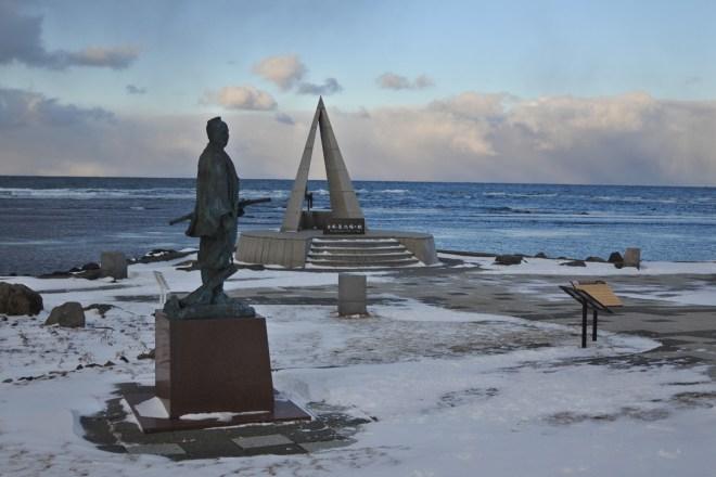 真冬の宗谷岬