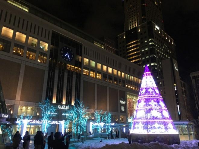 冬の札幌駅