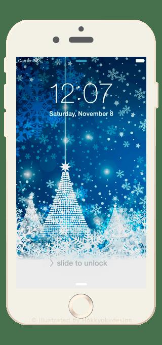 iPhone8/8Plus壁紙 クリスマス