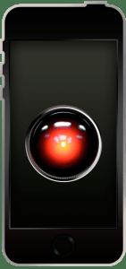 iPhone8/8Plus壁紙 HAL9000