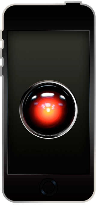 iPhone8/8Plus壁紙 HAL9000