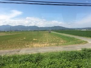 紀勢本線・松坂の車窓