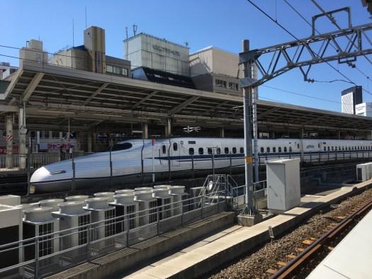 あおなみ線名古屋駅からの景色
