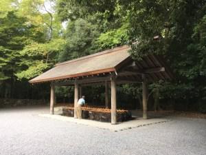 伊勢神宮・手水舎