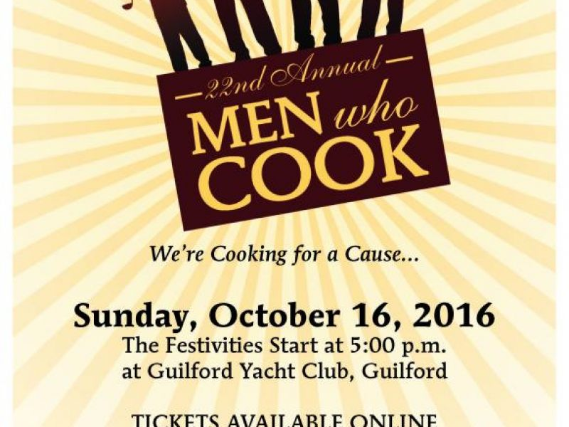 Oct 16 22nd Annual Men Who Cook Gala Fundraiser