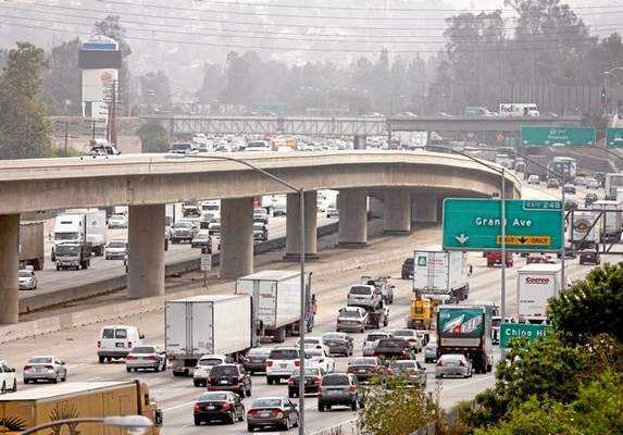 On one hand, Senator Huff seems to care mostly about creating faster traffic flow through some of the state's most congested highways. On the other hand, at least he has a way to pay for it. Image: ##http://www.freetheway.org/##Freetheway.org##