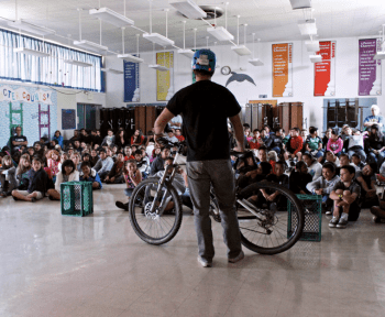 Bike education in San Luis Obispo County. Photo: BikeSLO County