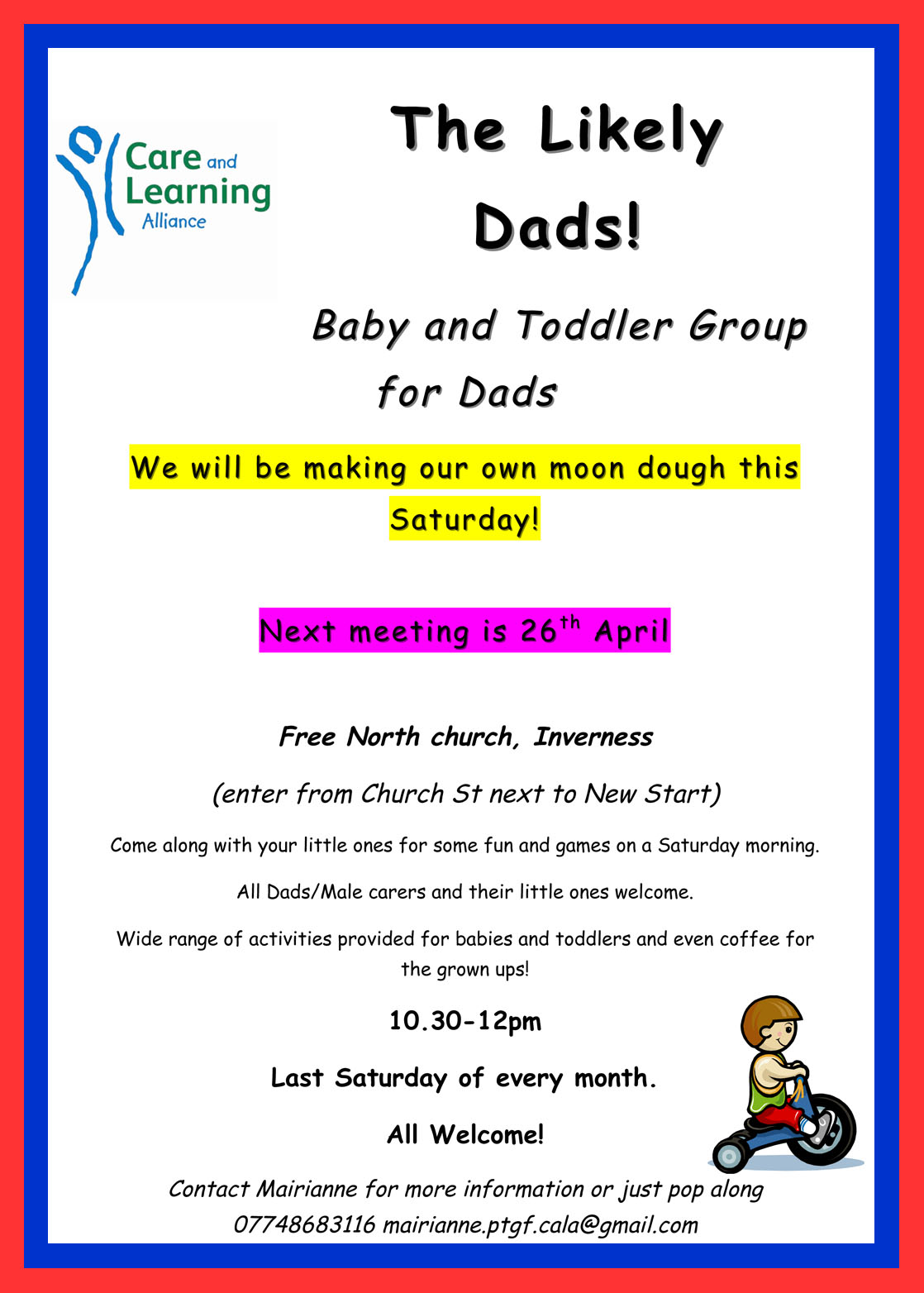 Moon Dough The Likely Dads Fun This Saturday In