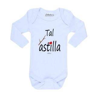 Ropa Bebe Body Calambur 100% algodón Moda Infantil Pilucho Tal Astilla