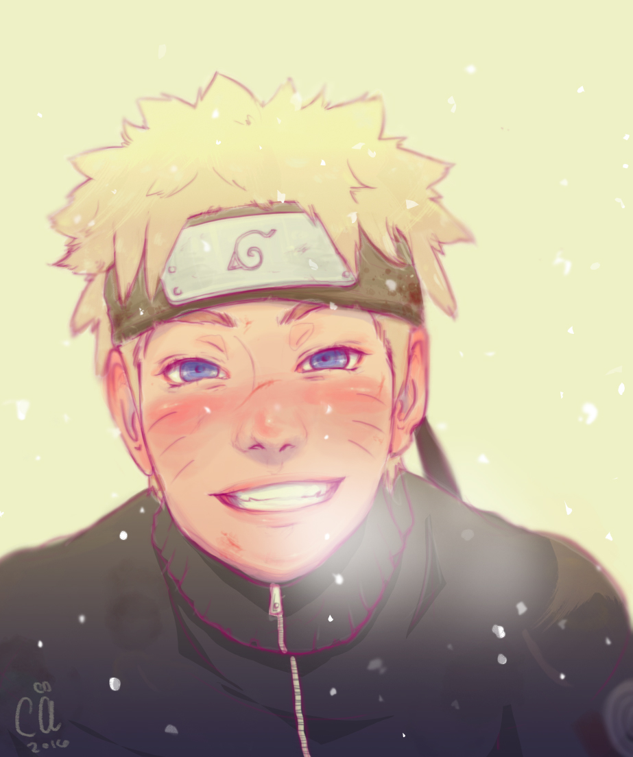 Another Naruto || 2016 || Drawn in Photoshop CC