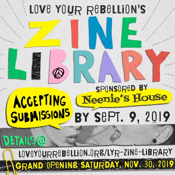 zine library opening
