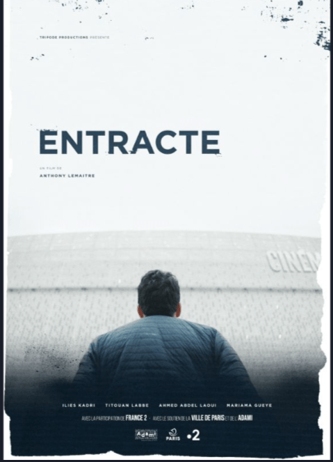 Entracte Cartel Fílmico MyFrenchFilmFestival 2021