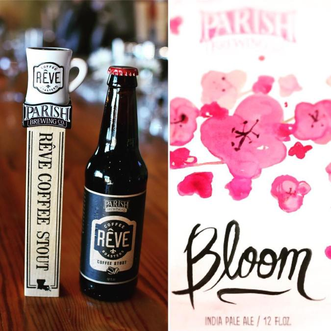 HEY EVERYBODY! We will be releasing the latest batches of @parishbrewingco Bloom IPA and Reve…