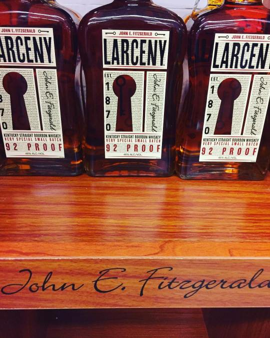 Larceny Bourbon has finally arrived in Baton Rouge and is available at our Perkins Rd…