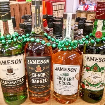 The Jameson family is all here @calandrosmkt Perkins! #stpatricksday2017 @jamesonwhiskey #spirits #strongwater #luckotheirish