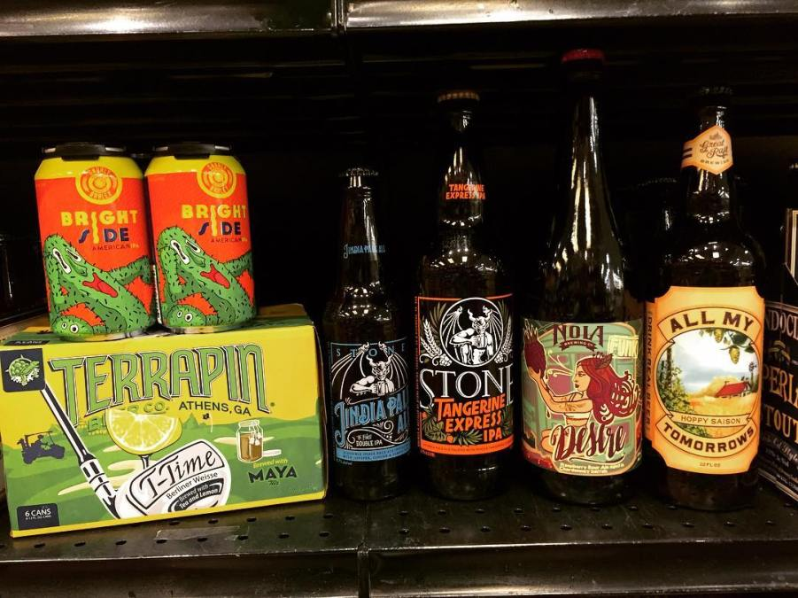 It's #newbrewthursday at our Perkins Rd location! We also received some more @gnarlybarley Brightside IPA…