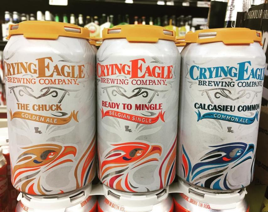 @cryingeaglebrew from Lake Charles will be available on Monday, April 21st at our Perkins Rd…
