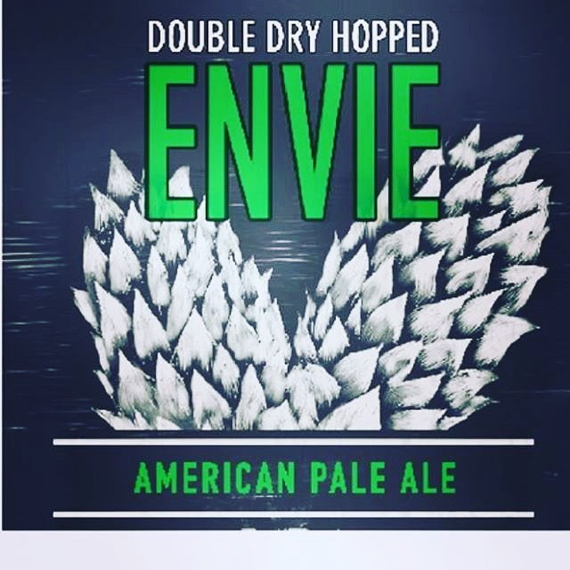 Tomorrow, Thursday May 25th, at 5 PM we will be releasing @parishbrewingco Double Dry-Hopped Envie…