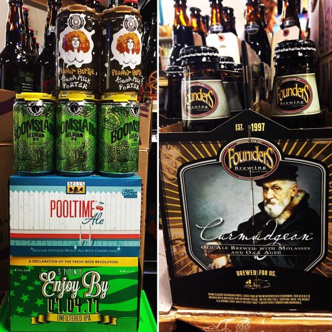 @foundersbrewing Curmudgeon, @gnarlybarley ???? Butter Korova, @bellsbrewery Pooltime, @wiseacrebrewingcompany Boomslang and much more is now…