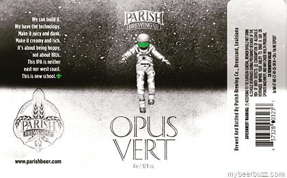 @parishbrewingco Opus Vert will be available in package and KEGS for purchase on Monday at…