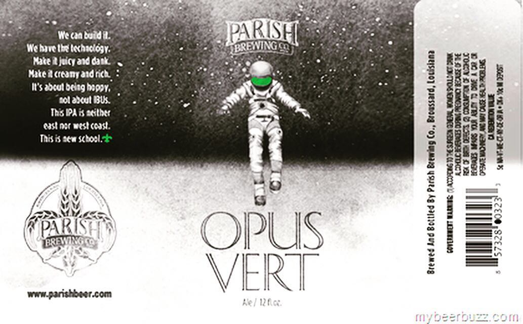 Just a reminder, we will be releasing @parishbrewingco Opus Vert at 12 PM today at…