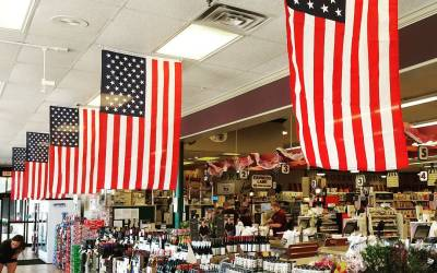 If you didn't know we were fans of #flagday…well – we offer Exhibit A (from…