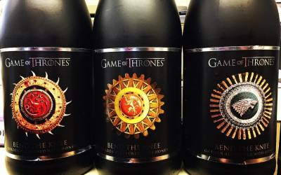 The new @breweryommegang #gameofthrones beer is now available at our Perkins Rd location! #beer #cases…