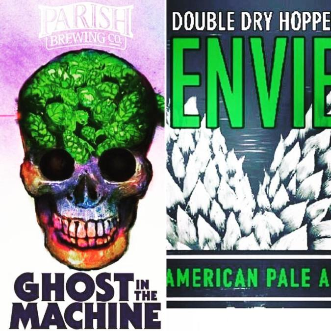 We have PLENTY of @parishbrewingco Ghost in the Machine and DDH Envie left for the…