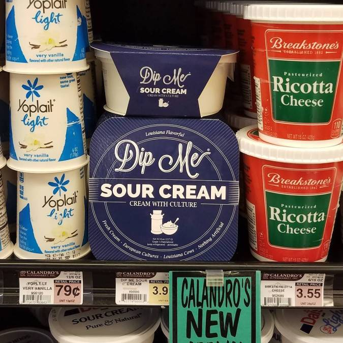 It's here! Baton Rouge's own, brand new, fresh, amazing, #local #sourcream from @dipmesnacks! Wonderful, delightfully…