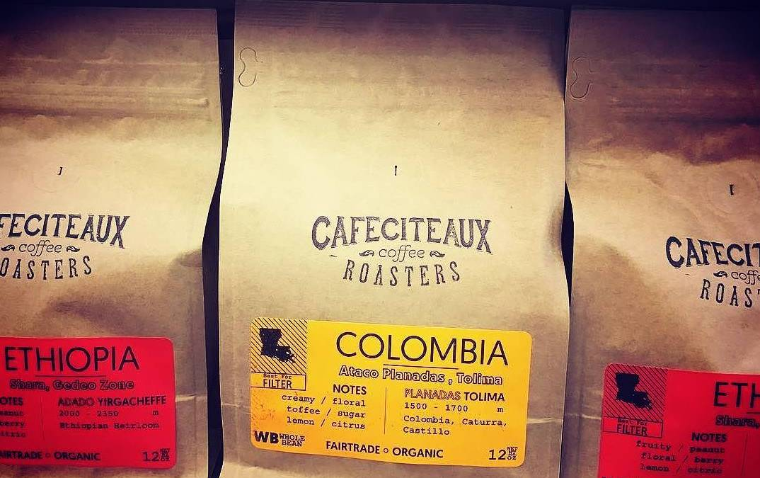 Ahhh yeah…#restocked! #Repost @cafeciteaux ・・・ Why? Because it's that good! @calandrosmkt shelves stocked! #coffee #gobr…