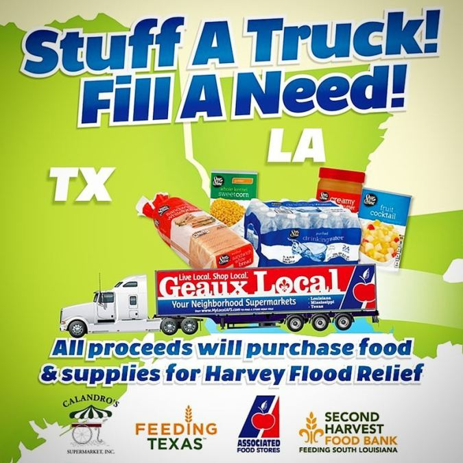 Don't forget! As you make groceries and get ready for LSU vs. Chattanooga, donate a…
